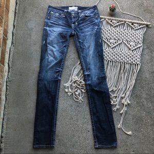 Big Star Denim Sweet Skinny Jeans Size 28 Long